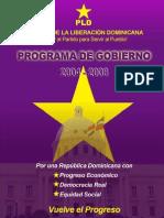 Programa de Gobierno 2004-2008
