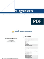 Dried Dairy Ingdients