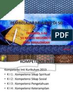 Pembelajaran Batik Di Sd Kurk 2013