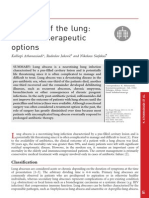 Abscess of the Lung Current Therapeutic Options