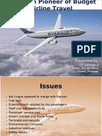 Ryanair European Pioneer of Budget Airline Travel