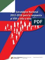 Plan Estrategico Nacional 2012 - 2016 Vih e Its