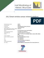 WP3-P09-100628- D3 2 Smart Wireless Sensor Network Platform