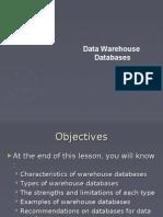 Data Warehouse Databases