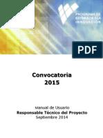 Manual Usuario Responsable Tecnico Del Proyecto