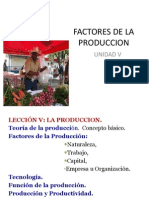 Factores de La Produccion