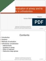 Methods of Evaluation of Airway