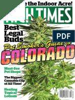 High Times - August 2014 USA