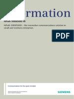 HiPath 3000_5000 V8, Data Sheet, Issue 2