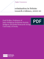 Research Report 73 Religious Discrimination