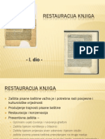 Restauracija Knjiga Pp