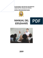 Manual del Estudiante CEPRE-UNMSM
