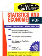 7 Statistics and Eco No Metrics (Schaum's Outline)