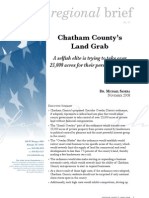 Chatham County's Land Grab