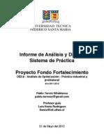 PRACTICA Informe de Análisis y Diseño Sistema V7