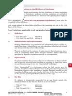 rfu regulation 15 appendix 2