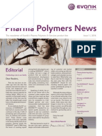 Evonik Pharma Polymers News 1 2014