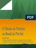 Direito Do Petroleo No Brasil