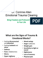 Emotional Trauma Clearing