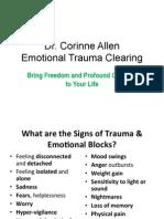 Emotional Trauma Clearing