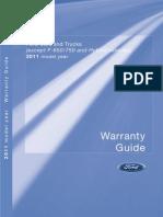 2011 Warranty