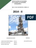 Informe de Termodinamica I Grupo 3