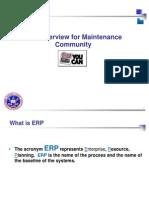 Maint Overview SAP