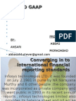 International Financial Reporting Standards and Indian GAAP