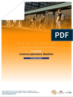 Licence Parcours Gestion