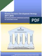 Babados Human Resource Development Strategy 2011-2016