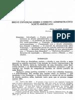 ADAMS, John Clarke. Direito Administrativo Norte-Americano