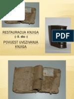 Restauracija Knjiga (II Dio) Povijest Uvezivanja Knjiga Pp