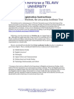registration instructions - 2014-2015 first year final