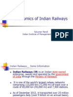 Economics of Indian Railways