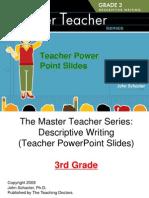 Sample Teacher Slides