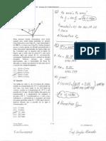 Prova de Física Resolvida EFOMM 2015