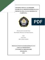 Paper Kepemimpinan Transformasional