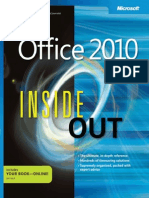 Office 2010 Inside Out