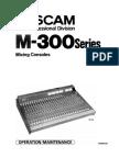 TASCAM M-300 Series M-312 Service Manual OCR
