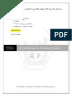 Informe de Laborotorio Fisicokimica 1