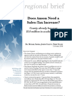 Does Anson need a sales tax increase?