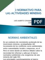 Marco Normativo Para Las Actividades Mineras 2