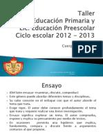 Diapositivas de Ensayo