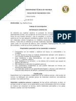 QUIMICA MATERIALES CERAMICOS