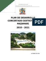 p.d.c. Mazamari Listo