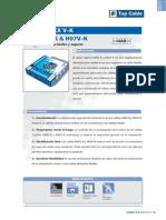 Topflex v-k h05v-k & h07v-k