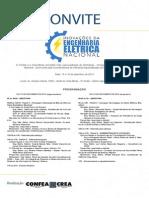 Convite WorkShop - Inovacoes Da Egenharia Eletrica Nacional- 15 e 16 09 14