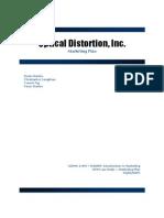Optical Distortion Marketing Plan - Online Sample