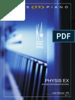User Manual Physis EX (en) V11