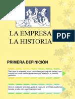 La Empresa en La Historia